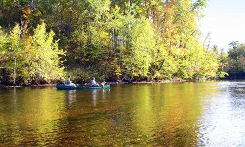 NW WI's Red Cedar River, 150' Shoreline, 1.59 Acres!