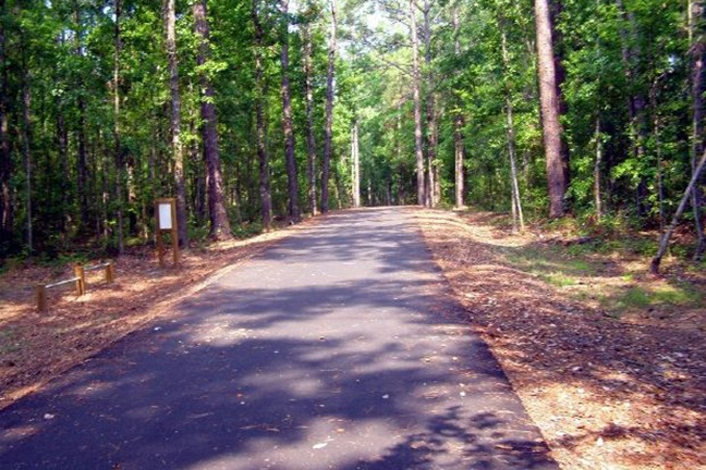 The 19.5 Mile Old Abe Trail is a paved recreational trail that travels from Chippewa Falls to Cornell, WI.