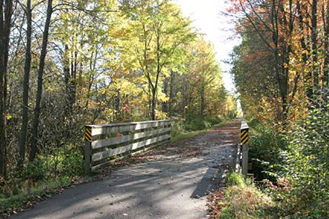 Enjoy all four seasons along the Old Abe Trail!