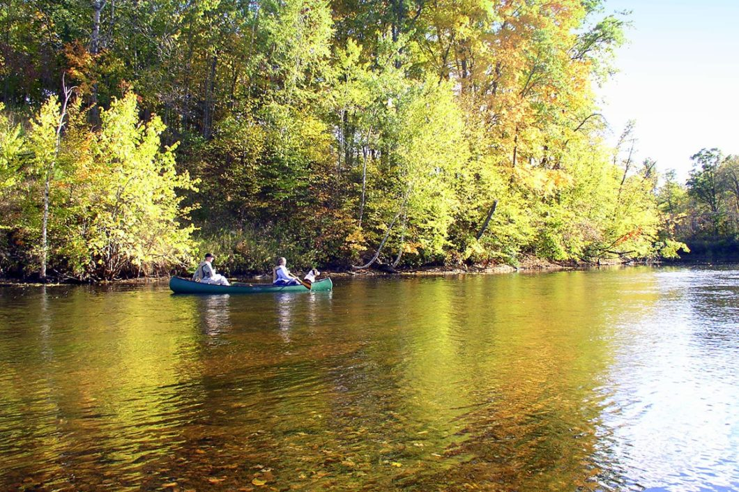 150' Waterfront Property on NW WI's Red Cedar River!